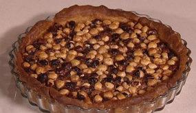 Пирог с фундуком