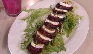 Салат с запеченой свеклой