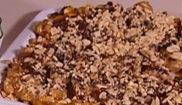 Крокант с арахисом и шоколадом