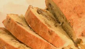Быстрый хлеб с оливками