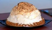 Торт «Аляска» с мороженым