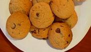 Печенье с кусочками шоколада