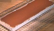 Тартинка с апельсиновым конфитюром и шоколадным ганашем