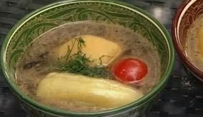 Суп с фаршированным перцем Долма шурпа