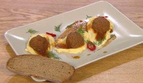 Шведские тефтели с соусом брюн